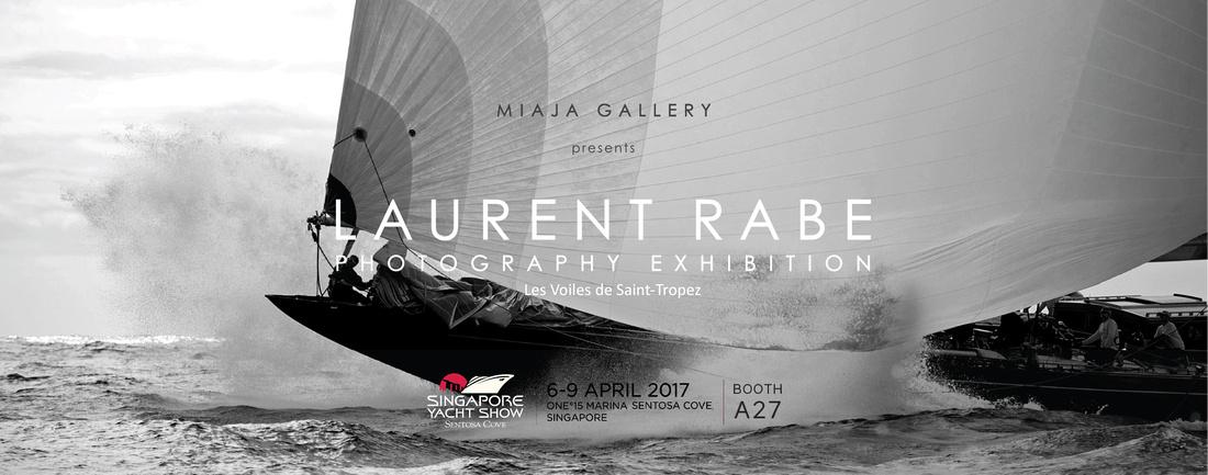 Laurent Rabe Singapour Yacht Show affiche 2