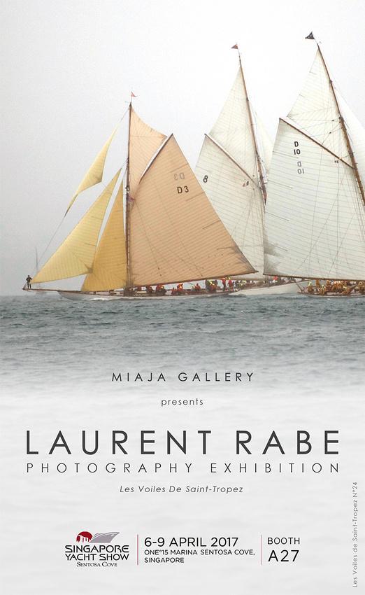 Laurent Rabe Singapour Yacht Show affiche 1