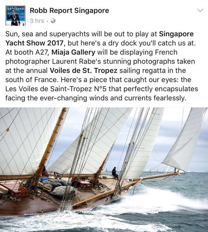 Presse Singapour Yacht Show